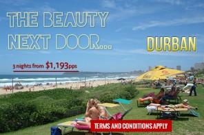 Durban: The Beauty Next Door…..