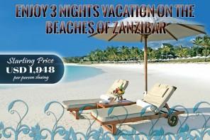 3 Luxurious Nights in Zanzibar, Tanzania